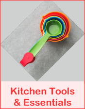 Recommended Kitchen Tools and Kitchen Essentials Free Recipes from RedKettleCook.com!