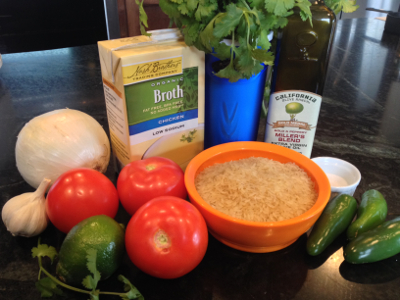 Authentic Mexican Rice Ingredients - Free Recipe from RedKettleCook.com!