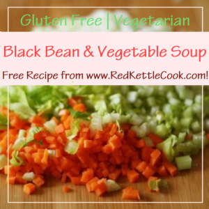 Black-Bean-and-Vegetable-Soup Beef Taco Skillet Free Recipe from RedKettleCook.com!