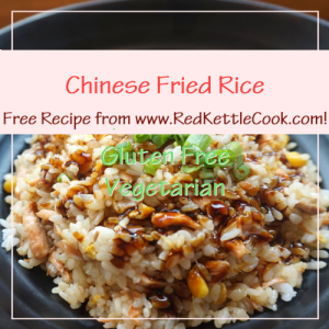 Chinese Fried Rice Free Recipe from RedKettleCook.com!
