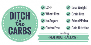 Ditch the Carbs a free resource brought to you by RedKettleCook.com!