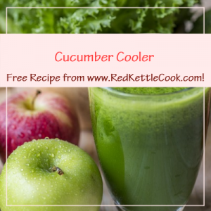 Cucumber Cooler Free Recipe from www.RedKettleCook.com!
