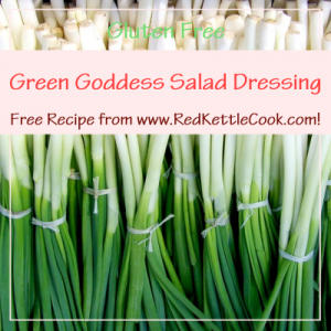 Green Goddess Salad Dressing Free Recipe from www.RedKettleCook.com!