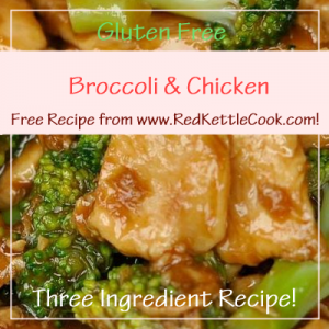 Broccoli & Chicken Free Recipe from www.RedKettleCook.com!
