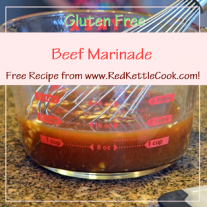 Beef Marinade Free Recipe from RedKettleCook.com!