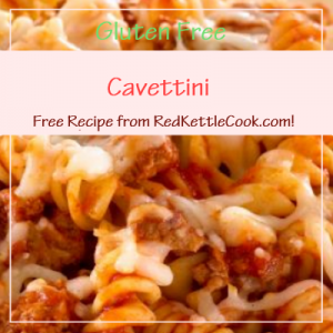 Cavettini Free Recipe from RedKettleCook.com!