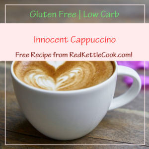 Innocent Cappuccino Free Recipe from RedKettleCook.com!