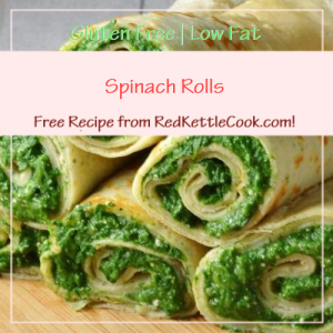 Spinach Rolls Free Recipe from RedKettleCook.com!