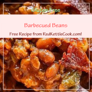 Barbecued Beans Free Recipe from RedKettleCook.com!