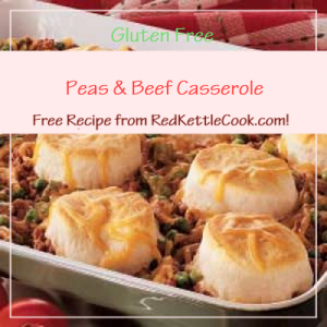 Peas & Beef Casserole Free Recipe from RedKettleCook.com!