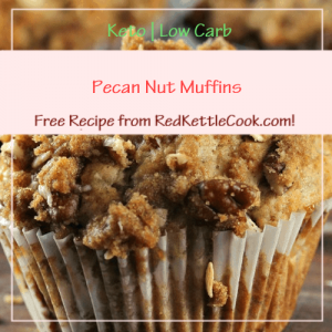 Pecan Nut Muffins a Free Recipe from RedKettleCook.com!