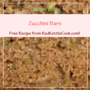 Zucchini Bars Free Recipe from RedKettleCook.com!