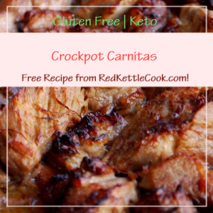 Crockpot Carnitas a Free Recipe from RedKettleCook.com!