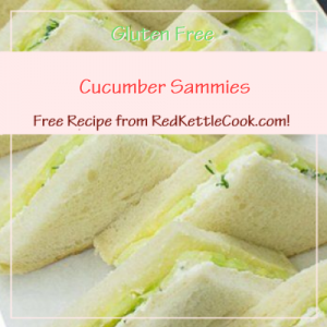 Cucumber Sammies a Free Recipe from RedKettleCook.com!