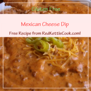 Mexican Cheese Dip a Free Recipe from RedKettleCook.com!