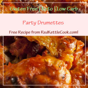 Party Drumettes a Free Recipe from RedKettleCook.com!