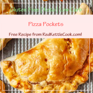 Pizza Pockets a Free Recipe from RedKettleCook.com!
